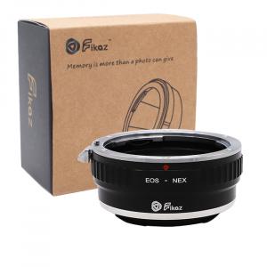 FIKAZ , adaptor de la obiective montura Canon EF la body montura Sony E (NEX)0