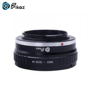 FIKAZ , adaptor de la obiective montura M42 la body montura Canon EOS M6