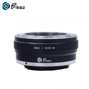 FIKAZ , adaptor de la obiective montura M42 la body montura Canon EOS M1