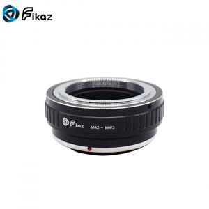 FIKAZ , adaptor de la obiective montura M42 la body montura Olympus / Panasonic Micro 4/3 (MFT)1