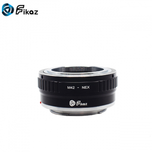 FIKAZ , adaptor de la obiective montura M42 la body montura Sony E (NEX)1