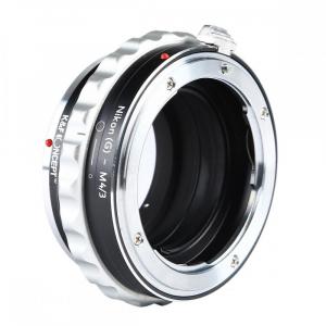 FIKAZ , adaptor de la obiective montura Nikon F (G)  la body montura Olympus / Panasonic Micro 4/3 (MFT) [3]