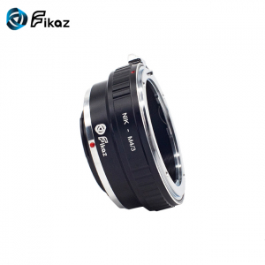 FIKAZ , adaptor de la obiective montura Nikon F la body montura Olympus / Panasonic Micro 4/3 (MFT) [2]