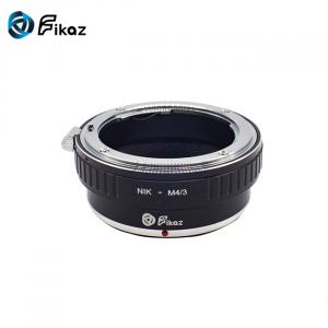 FIKAZ , adaptor de la obiective montura Nikon F la body montura Olympus / Panasonic Micro 4/3 (MFT) [1]