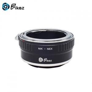 FIKAZ , adaptor de la obiective montura Nikon F la body montura Sony E (NEX)1