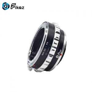 FIKAZ , adaptor de la obiective montura Nikon G la body montura Fujifilm X7