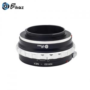 FIKAZ , adaptor de la obiective montura Nikon G la body montura Sony E ( NEX)6