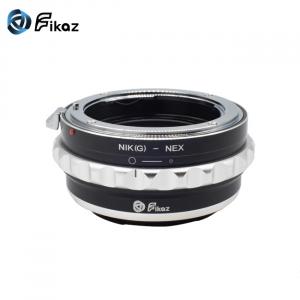 FIKAZ , adaptor de la obiective montura Nikon G la body montura Sony E ( NEX)1