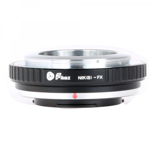 FIKAZ , adaptor de la obiective montura Nikon S / Contax Rangefinder la body montura Fujifilm X [1]