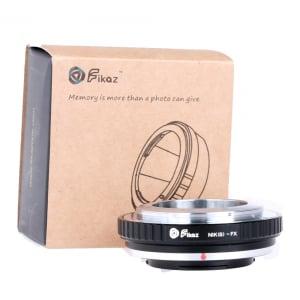 FIKAZ , adaptor de la obiective montura Nikon S / Contax Rangefinder la body montura Fujifilm X0