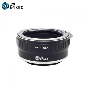 FIKAZ , adaptor de la obiective montura Pentax K la body montura Sony E ( NEX)1