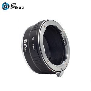 FIKAZ , adaptor de la obiective montura Pentax K la body montura Sony E ( NEX)2