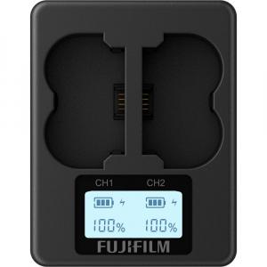 FUJIFILM BC-W235 Incarcator pentru 2 acumulatori foto NP-W2351