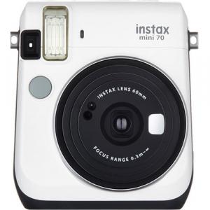 Fujifilm Instax Mini 70 - Aparat Foto Instant alb (Moon White)0