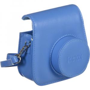 Fujifilm Instax Mini 9 - Aparat Foto Instant Albastru (Cobalt Blue) + Husa + Film 10 buc8