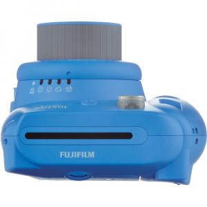 Fujifilm Instax Mini 9 - Aparat Foto Instant Albastru (Cobalt Blue) + Husa + Film 10 buc5
