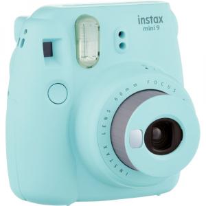 Fujifilm Instax Mini 9 - Aparat Foto Instant Albastru glaciar (Ice Blue)2