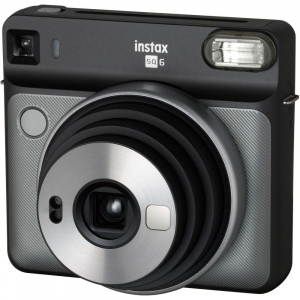 Fujifilm instax SQUARE SQ6 Instant Film Camera (Graphite Gray)1