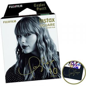 Fujifilm instax SQUARE Taylor Swift Edition -Instant Film Rama neagra (10 bucatii)2