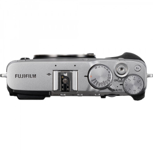 Fujifilm X-E3, Mirrorless 24MP, 4K body - argintiu2