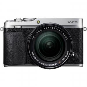 Fujifilm X-E3, Mirrorless 24MP, 4K body - argintiu + XF 18-55mm - RESIGILAT!!! [1]