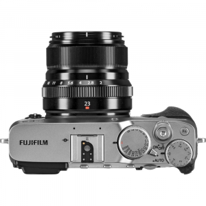 Fujifilm X-E3, Mirrorless 24MP, 4K + obiectiv XF 23mm f/2 R WR kit - argintiu [3]