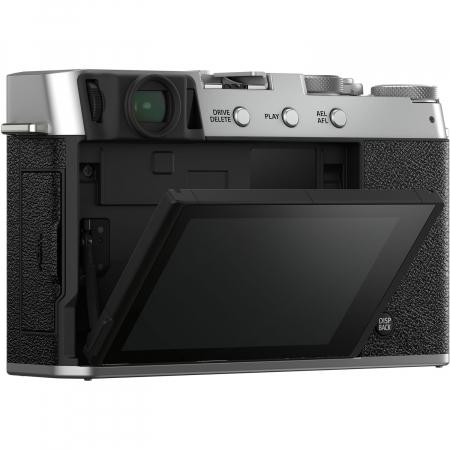 Fujifilm X-E4 , Mirrorless 26MP, 4K body - argintiu3