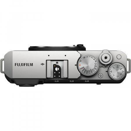 Fujifilm X-E4 , Mirrorless 26MP, 4K body - argintiu2