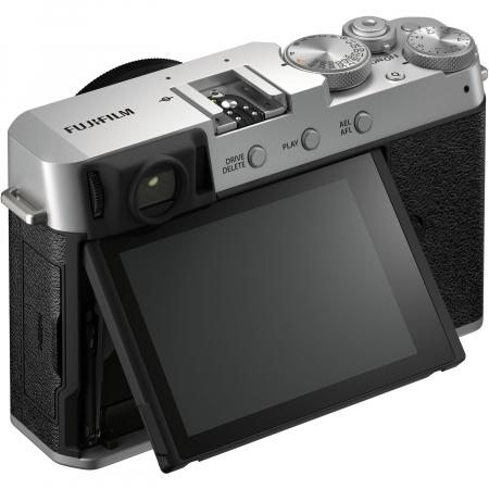 Fujifilm X-E4 , Mirrorless 26MP, 4K body - argintiu4