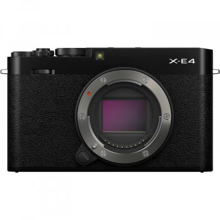 Fujifilm X-E4 , Mirrorless 26MP, 4K body + Grip MHG-XE4 + Thumb Rest TR-XE4 -negru [1]