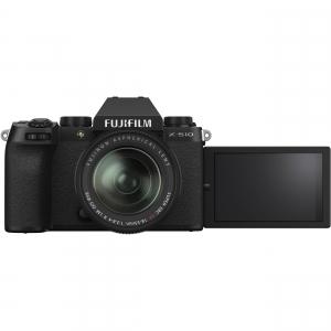 FUJIFILM X-S10 Mirrorless Digital Camera Kit cu Obiectiv XF 18-55mm Negru + Fujifilm 55-200mm F3.5-4.8 R LM OIS XF4