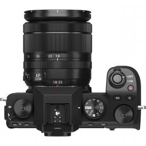 FUJIFILM X-S10 Mirrorless Digital Camera Kit cu Obiectiv XF 18-55mm Negru + Fujifilm 55-200mm F3.5-4.8 R LM OIS XF6