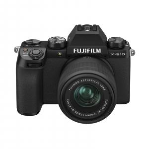 FUJIFILM X-S10 Mirrorless Kit cu XC 15-45mm Negru + Fujifilm 55-200mm F3.5-4.8 R LM OIS XF [1]