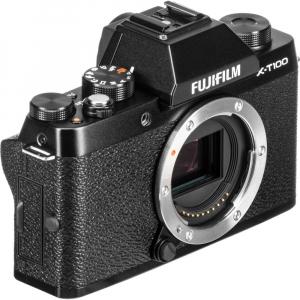 Fujifilm X-T100, Mirrorless 24MP body - negru5
