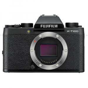 Fujifilm X-T100, Mirrorless 24MP body - negru0