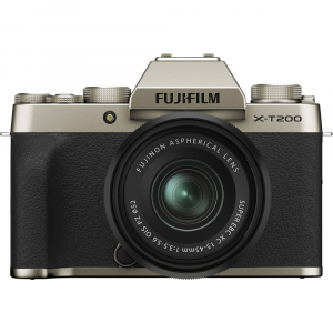Fujifilm X-T200 Aparat Foto Mirrorless 24MP + XC 15-45mm f/3.5-5.6 OIS - Champagne Gold0