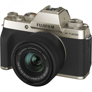 Fujifilm X-T200 Aparat Foto Mirrorless 24MP + XC 15-45mm f/3.5-5.6 OIS - Champagne Gold10