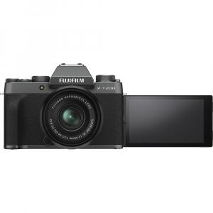 Fujifilm X-T200 Aparat Foto Mirrorless 24MP + XC 15-45mm f/3.5-5.6 OIS - Dark Silver9