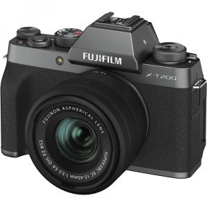 Fujifilm X-T200 Aparat Foto Mirrorless 24MP + XC 15-45mm f/3.5-5.6 OIS - Dark Silver10