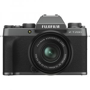Fujifilm X-T200 Aparat Foto Mirrorless 24MP + XC 15-45mm f/3.5-5.6 OIS - Dark Silver0