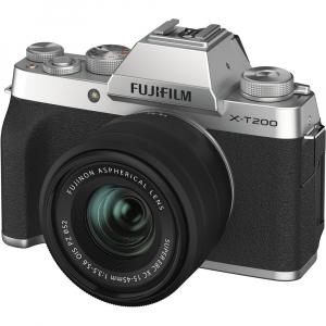 Fujifilm X-T200 Aparat Foto Mirrorless 24MP + XC 15-45mm f/3.5-5.6 OIS - Silver [10]