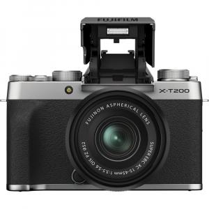 Fujifilm X-T200 Aparat Foto Mirrorless 24MP + XC 15-45mm f/3.5-5.6 OIS - Silver [1]