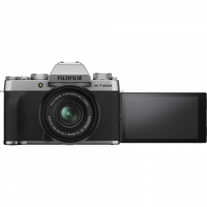 Fujifilm X-T200 Aparat Foto Mirrorless 24MP + XC 15-45mm f/3.5-5.6 OIS - Silver [8]