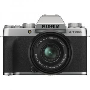 Fujifilm X-T200 Aparat Foto Mirrorless 24MP + XC 15-45mm f/3.5-5.6 OIS - Silver [0]