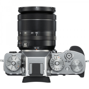 Fujifilm X-T3 Aparat Foto Mirrorless Kit XF18-55mm Senzor 26MP X-Trans 4K/60p Argintiu3