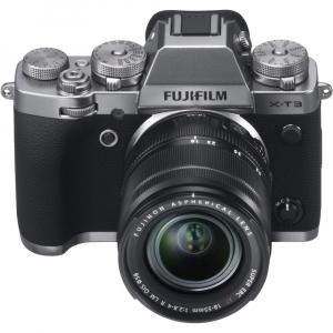 Fujifilm X-T3 Aparat Foto Mirrorless Kit XF18-55mm Senzor 26MP X-Trans 4K/60p Argintiu6