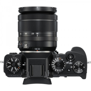 Fujifilm X-T3 Aparat Foto Mirrorless Kit XF18-55mm Senzor 26MP X-Trans 4K/60p Negru3