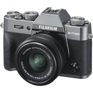 FUJIFILM X-T30 Mirrorless Kit + XC 15-45mm f/3.5-5.6 OIS PZ  - Charcoal Anthracite1