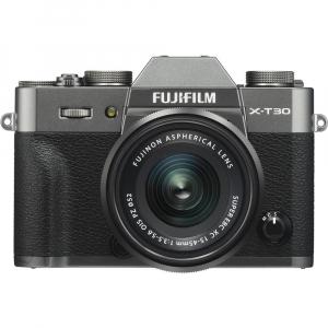 FUJIFILM X-T30 Mirrorless Kit + XC 15-45mm f/3.5-5.6 OIS PZ  - Charcoal Anthracite0