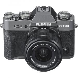 FUJIFILM X-T30 Mirrorless Kit + XC 15-45mm f/3.5-5.6 OIS PZ  - Charcoal Anthracite5